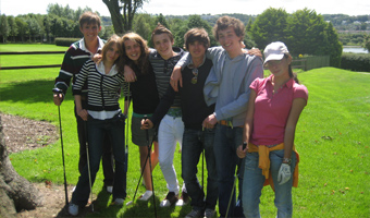 English and Golf for juniors in Ireland